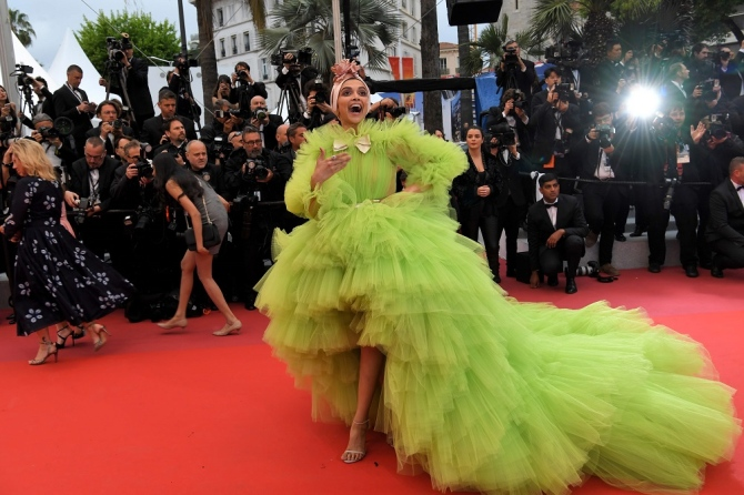 India Tv - Deepika Padukone at Cannes