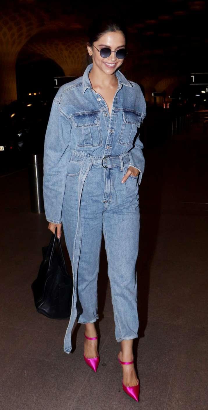 India Tv - Deepika Padukone leaves for MET Gala 2019