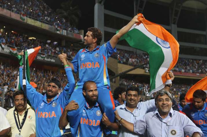 India Tv - Sachin Tendulkar won his first and only World Cup in 2011