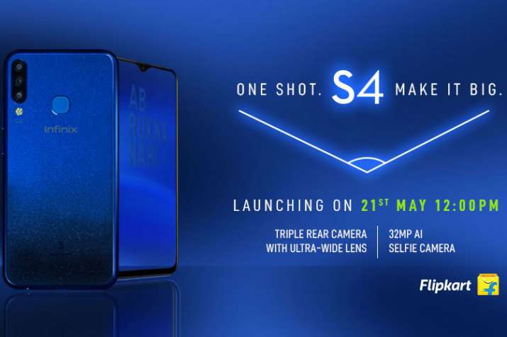 Infinix S4 with a 32MP front camera and a 6.2-inch waterdrop screen display to launch in India on M