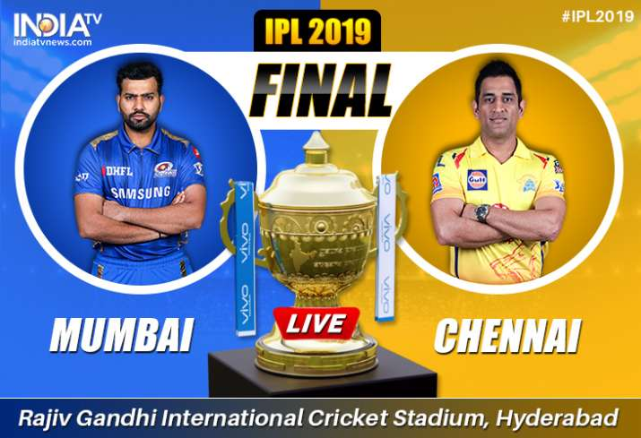 Live Cricket Streaming, MI vs CSK, IPL 2019 Final: Live