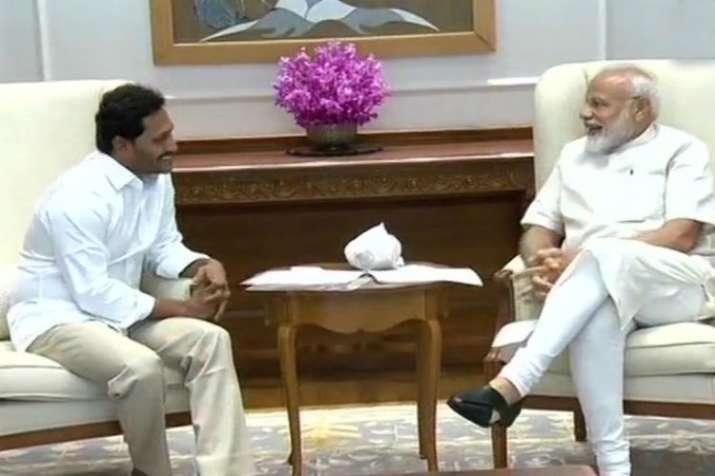 Jagan Mohan Reddy, PM Modi