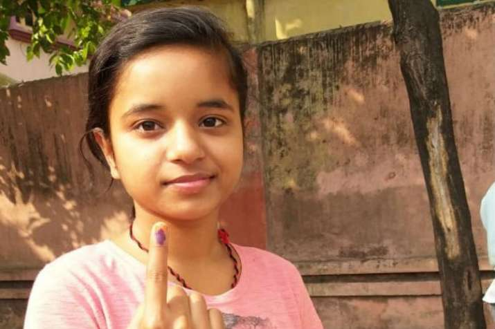 A first time voter from Jharkhand