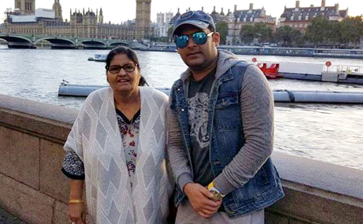 Kapil Sharma gets emotional while sharing stage with mom on