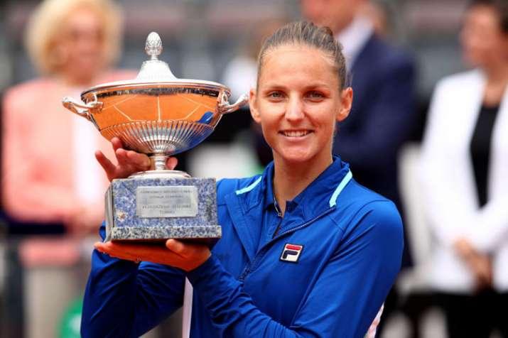 Karolina Pliskova beats Johanna Konta to win 2019 Italian Open title