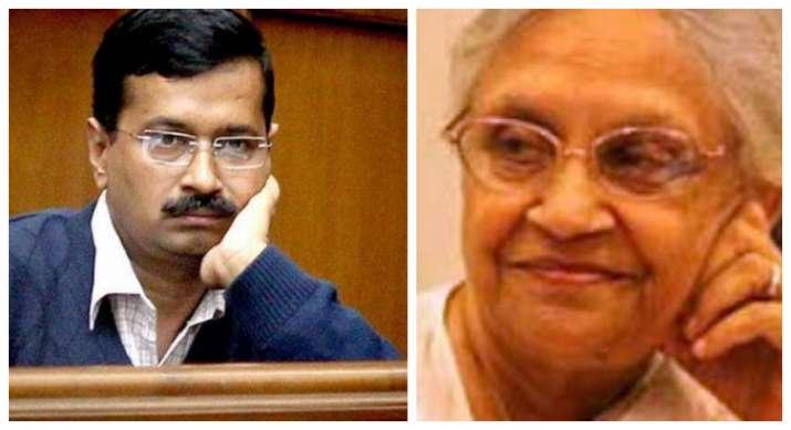 Delhi Congress chief Sheila Dikshit and Delhi Chief