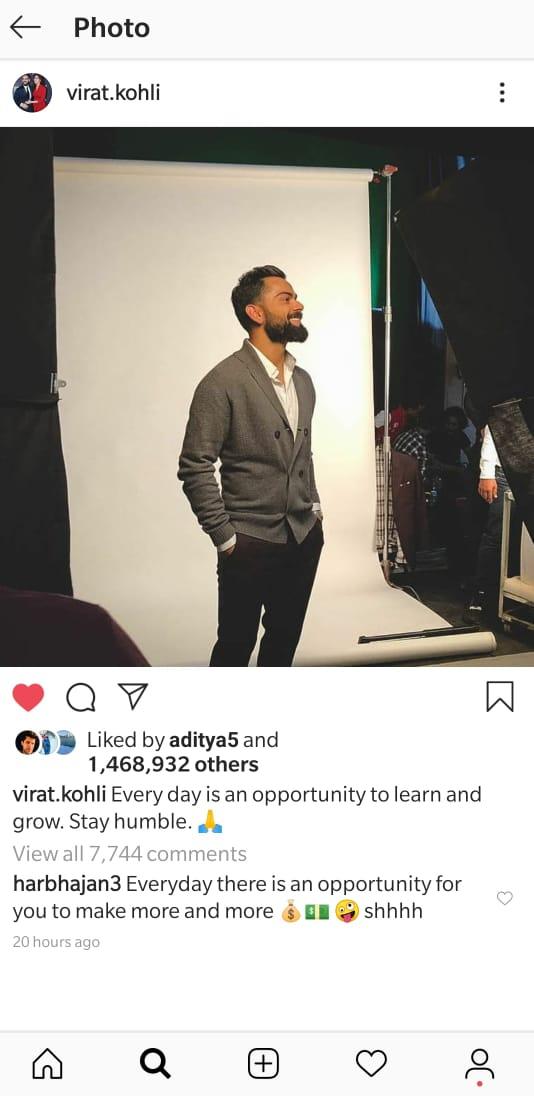 India Tv - Virat Kohli Instagram
