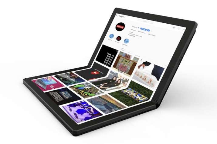 India Tv - Lenovo foldable PC