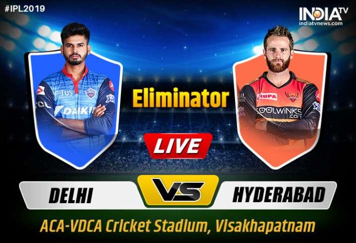 Stream Live Cricket Dc Vs Srh Ipl 2019 Eliminator Watch