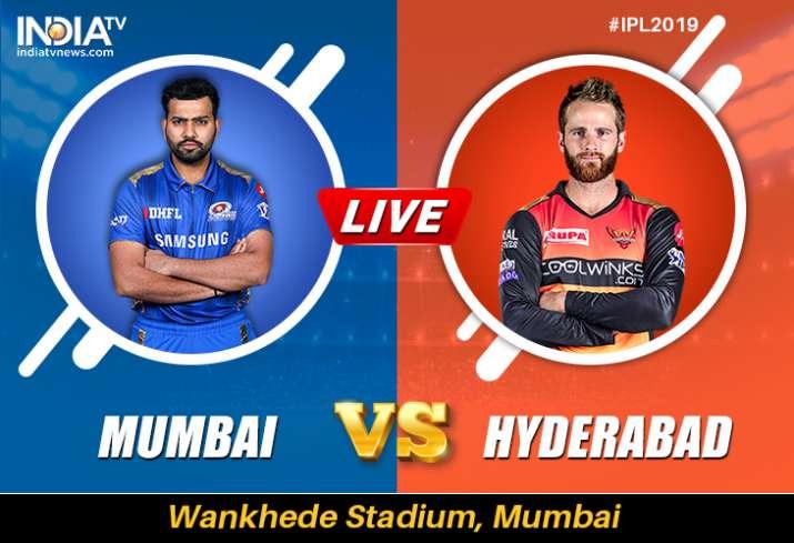 Live Streaming Cricket, MI vs SRH, IPL 2019: Watch Live Match Mumbai Indians vs Sunrisers Hyderabad