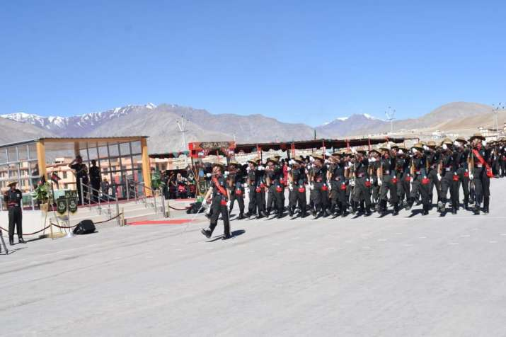 220 young soldiers join Ladakh Scouts Regiment in Leh
