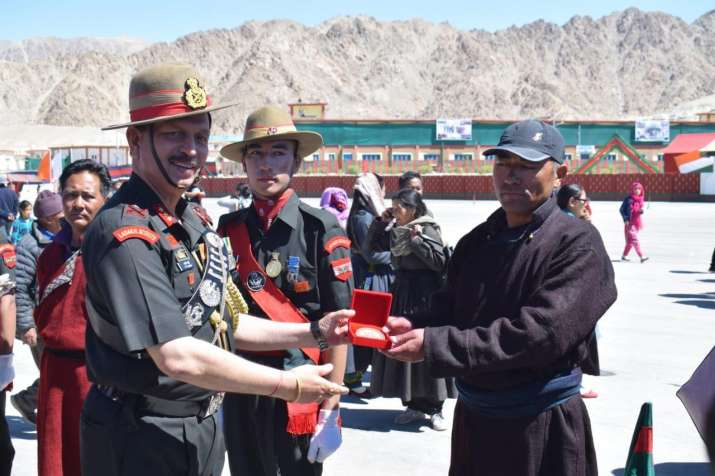 India Tv - 220 young soldiers join Ladakh Scouts Regiment in Leh