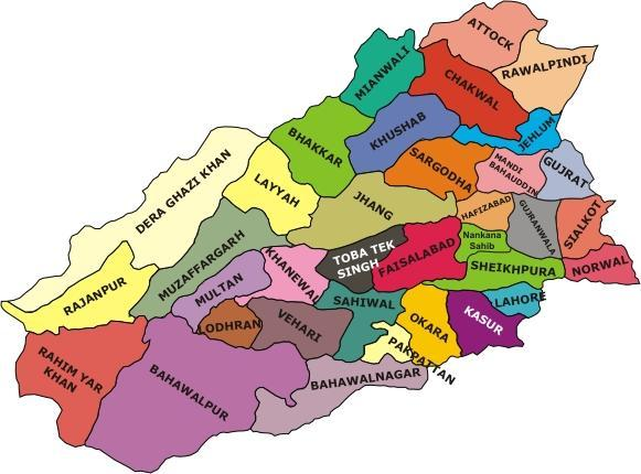 Pakistan to bifurcate Punjab to create new South Punjab