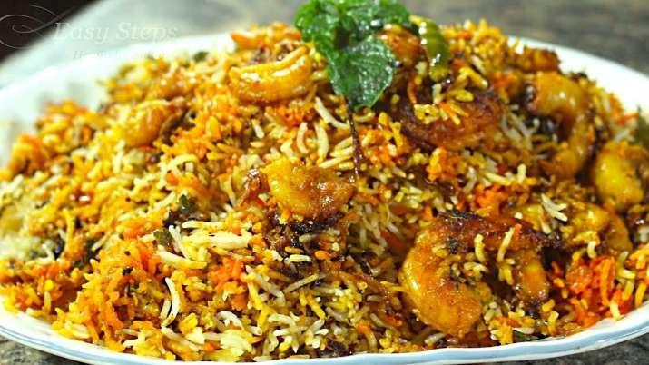 India Tv - Shrimp Biryani