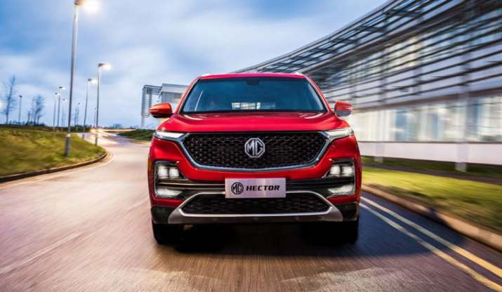 Morris Garages unveils Hector, India's first internet car
