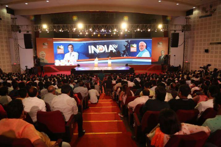 Watch PM Modi's interview with Rajat Sharma