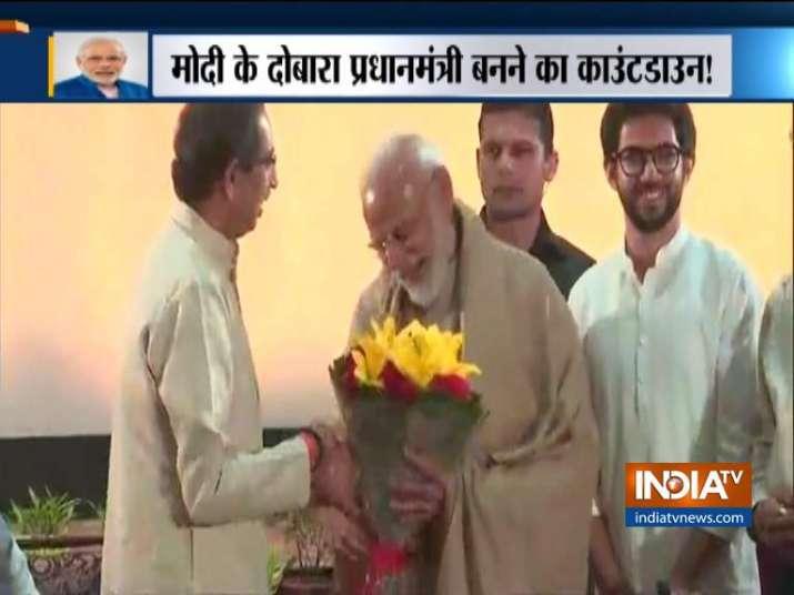 PM Modi arrives at Ashoka Hotel for NDA leaders dinner
