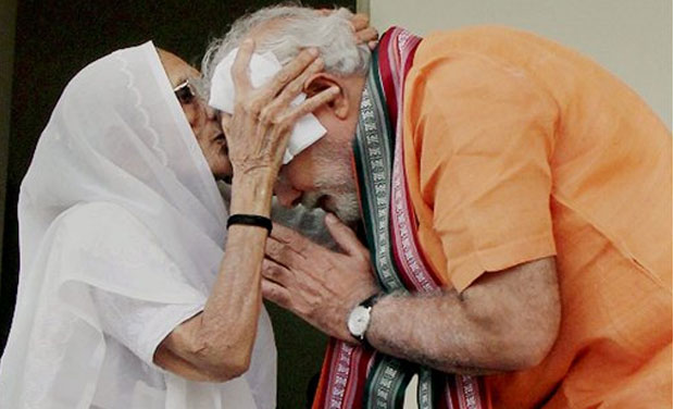 Prime Minister Narendra Modi to seek blessings from his