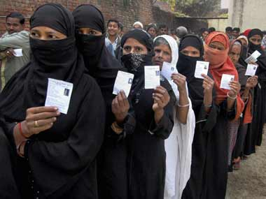 On Sunday, Delhi registered an overall turnout of 60.5 per