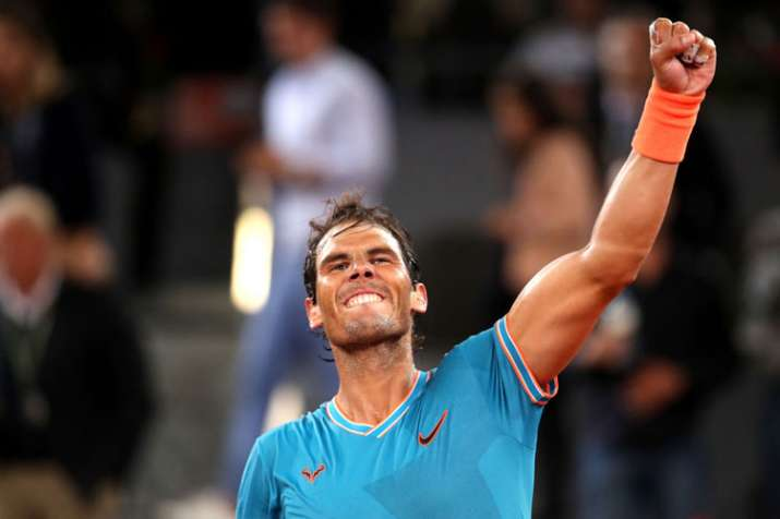 Rafael Nadal overcomes stomach virus to advance in Madrid Open