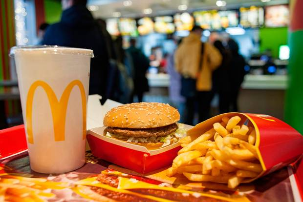 McDonald's drops several items from menu in reopened