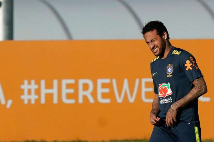 Copa America 2019: Neymar leaves Brazil training with knee pain