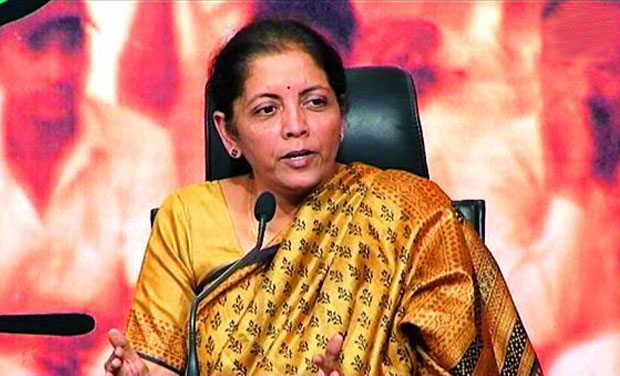 India Tv - Finance Minister Nirmala Sitharaman