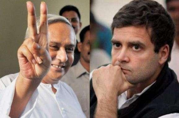Odisha Chief Minister Naveen Patnaik (left) and Congress
