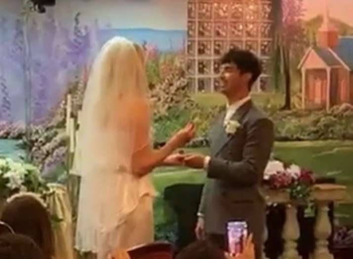 Joe Jonas and Sophie Turner get married in Las Vegas, check inside pictures and videos