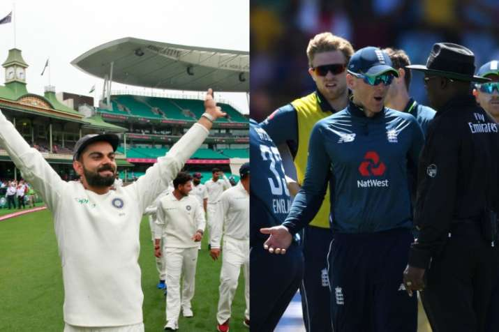 India, England top Test and ODI rankings after annual update