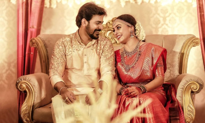 Bigg Boss Malayalam Couple Pearle Maaney Srinish Aravinds Wedding