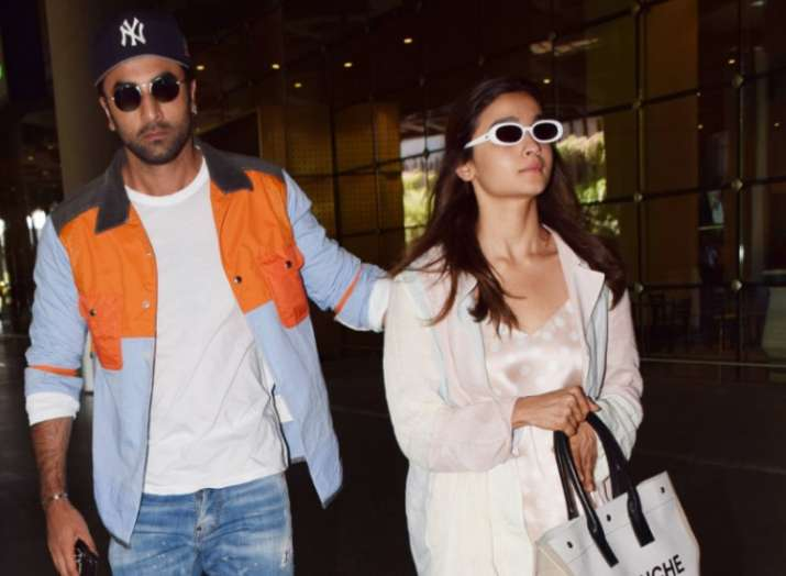 India Tv - Ranbir Kapoor and Alia Bhatt are back from their Europe vacations; Couple looks fresh and happy