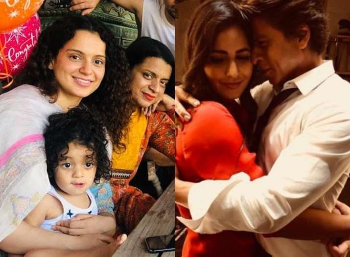 Shah Rukh-Katrina in Satte Pe Satta remake, Kangana's adorable pics with nephew