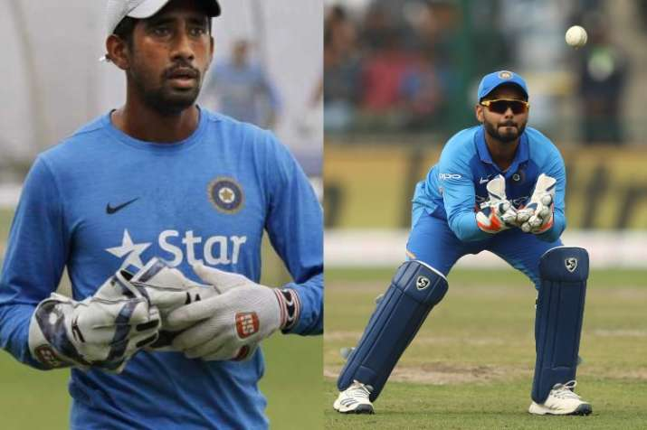 india team selection saha and pant