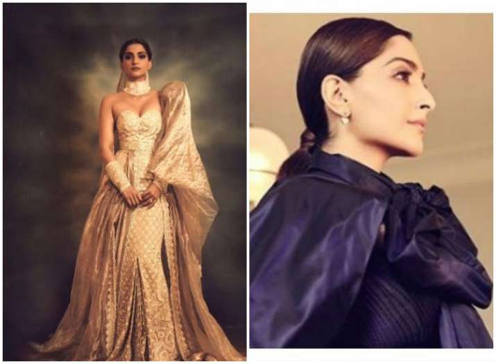 Cannes 2019 : Strappy blue gown to 'Modern Maharani', Sonam
