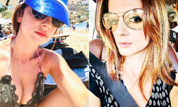 sussanne khan holiday picture