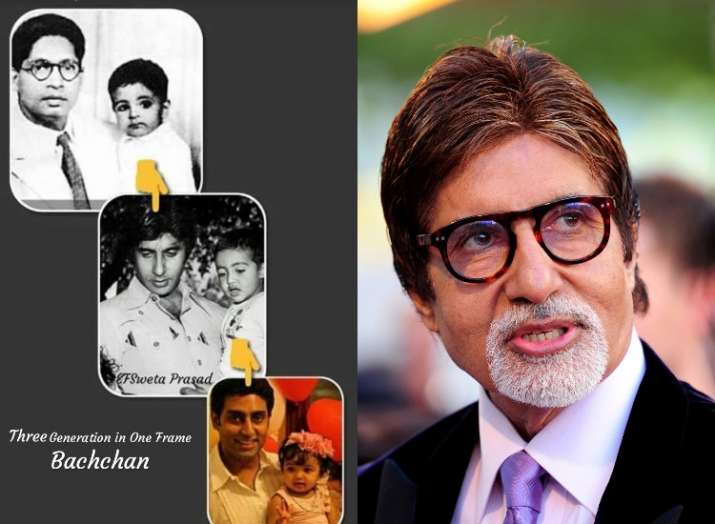 Amitabh Bachchan captures 3 Bachchan generations in one frame, check out