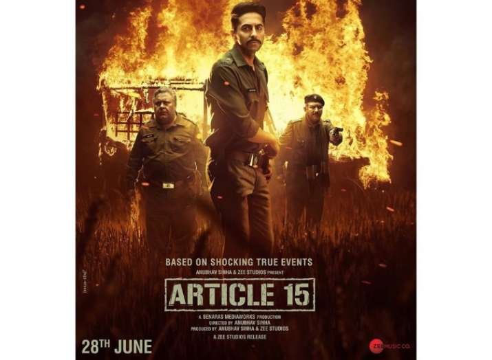 Article 15 official trailer out now- Ayushmann Khurrana