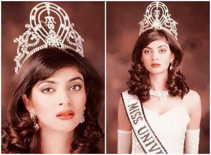 Sushmita Sen marks 25 years of Miss Universe title,