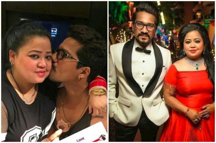 India Tv - Bharti with husband