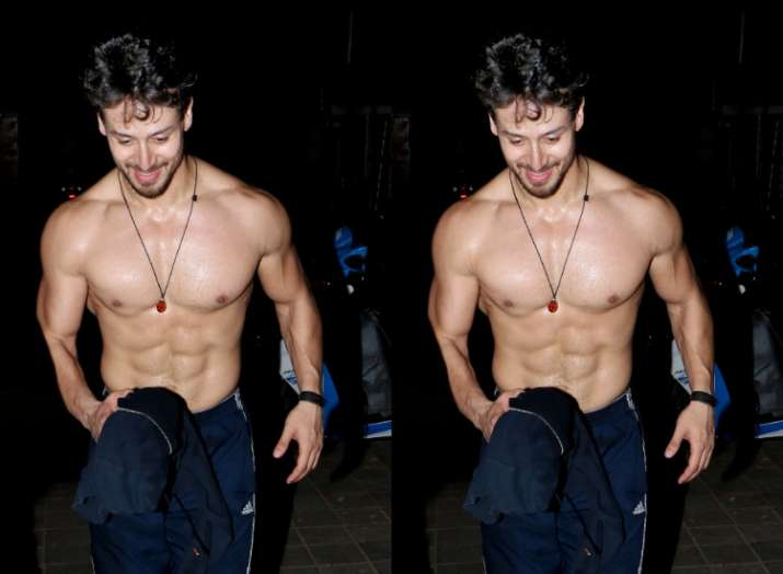 Tiger Shroff's shirtless pictures will leave you sweating