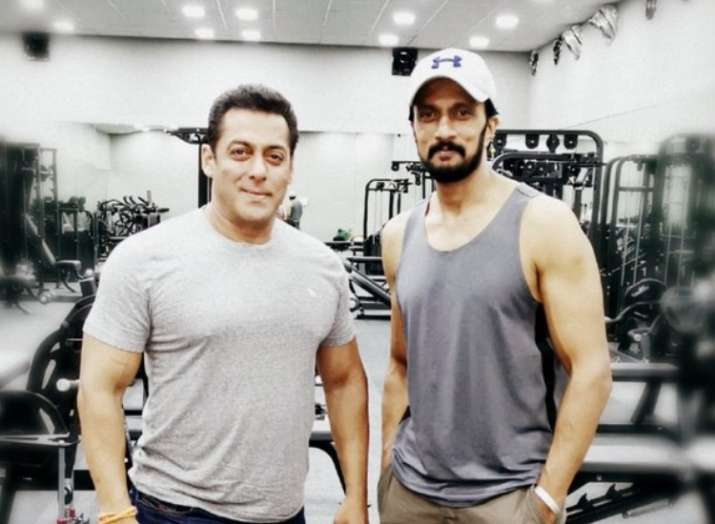 Dabangg 3: Sudeep joins Salman Khan on film sets
