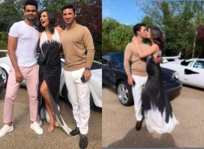 Pregnant Amy Jackson gets engaged to boyfriend George Panayiotou