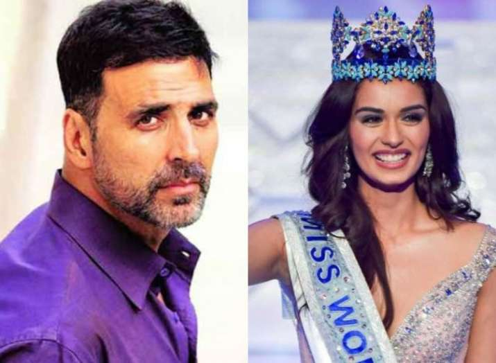 Miss World Manushi Chhillar to star opposite Akshay Kumar in Prithviraj Chauhan biopic?
