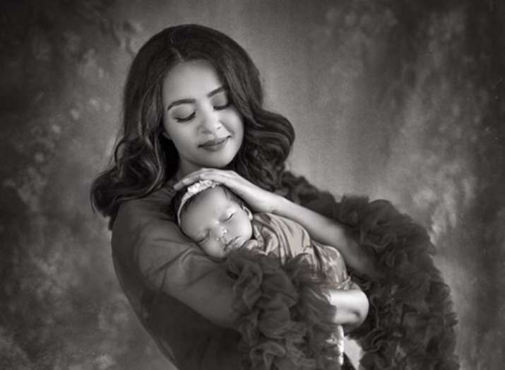 Surveen Chawla shares first picture of her baby girl Eva in this gorgeous photoshoot