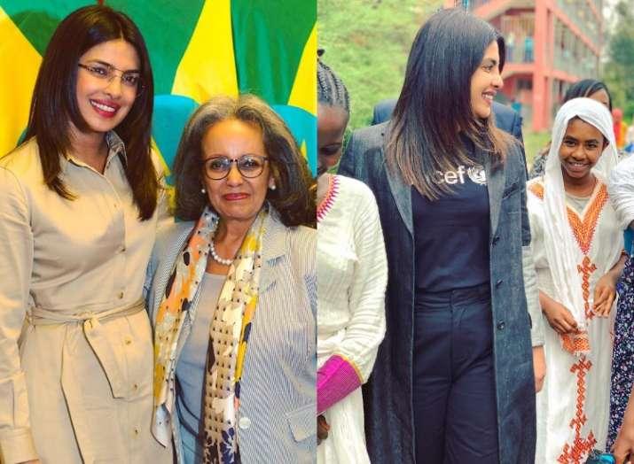 Priyanka Chopra spreads happiness in Ethiopia as Unicef ambassador