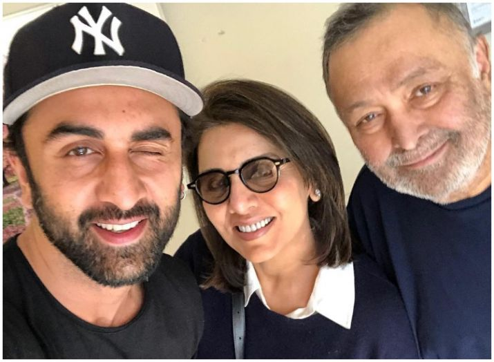 India Tv - Ranbir Kapoor with parents