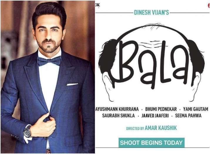 Ayushmann-starrer Bala to be released in November