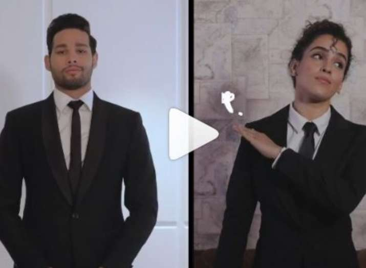 Siddhant Chaturvedi and Sanya Malhotra's Hindi version of Men In Black: International