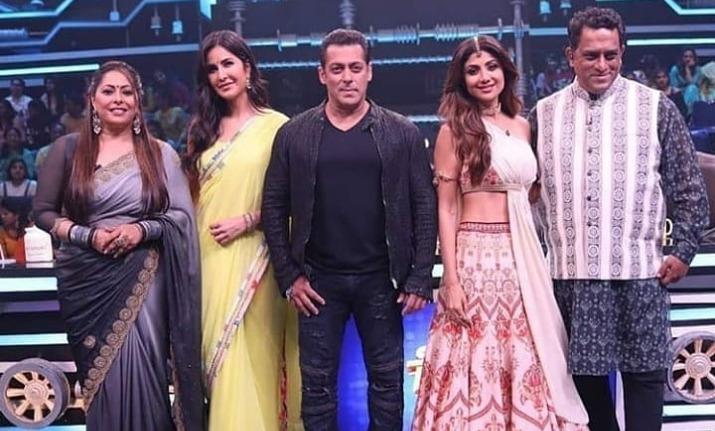 Salman Khan teases and pulls Shilpa Shetty's leg on Super Dancer Chapter 3, watch funny video